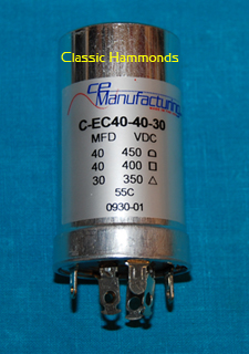 Hammond AO-28 Pre-Amp Electrolytic Capacitor