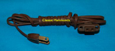 Hammond AC Power Cord - Solid State Models
