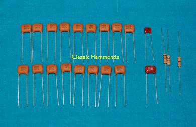 Hammond B-3/C-3 Vibrato Line Parts Kit - Hammond Organ Parts