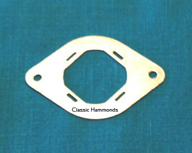 Leslie Amplifier Can Capacitor Mounting Plate - Metal