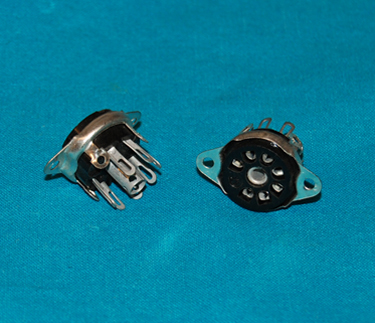 Hammond 7 Pin Tube Socket - Chassis Mount
