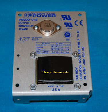 B+ Power Supply - International Power