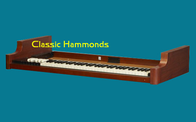 Hammond A-3 Heritage Vintage System Lower Manual
