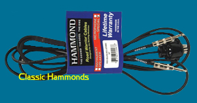 Hammond  XK Series 11 Pin to Dual 1/4″ Male-Audio / Speed Cable